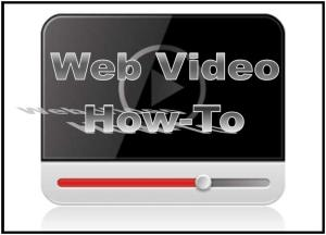 Web Video HowTo ICON